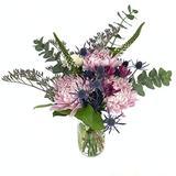 """Rachel Cho Floral Design - Mumma Mia - Fresh Cut Flower Bouquet - Fast Delivery - Fresh Flowers - Floral Arrangement - Flower Bouquet - Approx. 4 lbs. 15"""" x 9"""" - with Vase"""