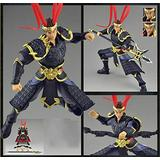 N/F SHIJIU SHIMENG Romance of The Three Kingdoms, The World's First General, The Courage of The Tiger, Lu Bu. Model Statues, Action Figures (Black)