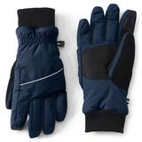 Men's Lands' End Squall Waterproof Gloves, Size: Small, Brt Blue
