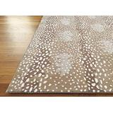 Antelope Cheetah Beige Contemporary Persian Oriental Woolen Area Rugs Stark Style Rug (5x8)