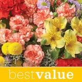 Florist Designed Bouquet (Free Glass Vase Included)