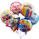 Birthday Mylar Balloon Bouquet