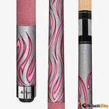 Players Flirt F-2780 Sexy in Suede Pool Cue Stick - Billiards King, 18 Ounce