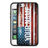 BRGiftShop Customize Your Own License USA Flag Country Plate Rubber Phone Case for Apple iPod Touch 5th & 6th Generation