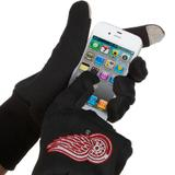 McArthur Detroit Red Wings Touch Gloves - Black