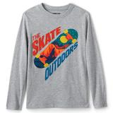 Boys 4-7 Lands' End Applique Graphic Tee, Boy's, Size: Small 4, Skate Outdoors