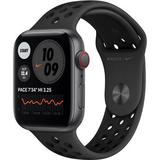 Apple Watch Nike SE (GPS + Cellular, 44mm, Space Gray Aluminum, Anthracite/Black MG063LL/A