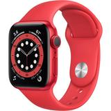 Apple Watch Series 6 (GPS, 40mm, PRODUCT(RED) Aluminum, PRODUCT(RED) Sport Band) M00A3LL/A