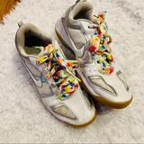 Nike Shoes   Nike Multicourt 7 Volleyball Shoes White Silver   Color: Silver/White   Size: 10