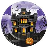 Creative Converting Haunted Mansion Heavy Weight Paper Disposable Dinner Plate Heavy Duty Paper   Wayfair DTC345667DPLT