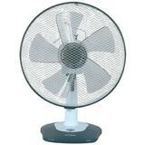 "Optimus 13"" Oscillating Personal Fan in Gray, Size 13.0 H x 6.5 W x 12.0 D in | Wayfair 95078872M"