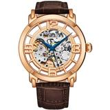 Legacy Automatic Gold Dial Watch - Metallic - Stuhrling Original Watches
