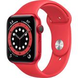 Apple Watch Series 6 (GPS + Cellular, 44mm, PRODUCT(RED) Aluminum, PRODUCT(RED) S M07K3LL/A