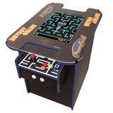 Suncoast Arcade Cocktail Arcade Game, Size 27.5 H x 22.0 W x 38.0 D in | Wayfair SCXLC412STL-BLU-RED