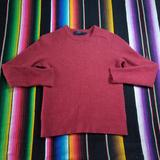 J. Crew Sweaters   Lambswool Sweater   Color: Red   Size: S