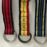 J. Crew Accessories | J Crew Ribbon Belts 3 Total. All Size Ml | Color: Blue/Red | Size: Ml