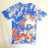 Nike Tops   Boise State Broncos Custom Dyed T-Shirt   Color: Blue/Orange   Size: M