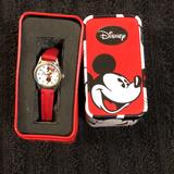Disney Accessories   Disney Mini Mouse Red Watch   Color: Black/Red   Size: One Size