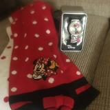 Disney Accessories | Disney Bundle (Scarf & Watch)88$25 Or $20 Woffer | Color: Red/White | Size: Osg