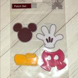Disney Other | Disney Mickey Mouse Iron On Patches | Color: black | Size: Os