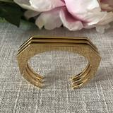 J. Crew Jewelry | J. Crew Gold Tone Bangle | Color: Gold | Size: Os