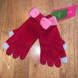 Kate Spade Accessories | Kate Spade Gloves Nwt | Color: Pink/Red | Size: Os