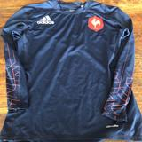Adidas Shirts & Tops | French National Soccer Team Training Shirt | Color: Blue | Size: Lb