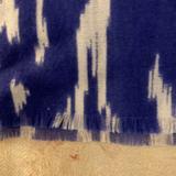 J. Crew Accessories   J.Crew Wool Challis Indigo Purple Oversized Scarf   Color: Cream/Purple   Size: 70 X 21.