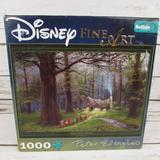 Disney Games   Disney Fine Art Snow White Off To Home We Go Puzzl   Color: Brown/Green   Size: 27 X 20