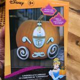 Disney Holiday | Disney Cinderellas Carriage Pumpkin Ensemble | Color: Blue/Silver | Size: Os