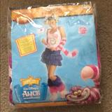 Disney Other | Halloween Costume (The Cheshire Cat) | Color: Pink/Purple | Size: Xl (14-16)