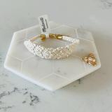 Madewell Jewelry   Madewell Macram Bracelet   Color: White   Size: Os