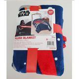 Disney Bedding | Disney Star Wars Plush Blanket | Color: Blue/Red | Size: Twin