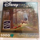 Disney Games | Disney'S Fine Art Snow White 1000 Peice Puzzle | Color: White | Size: 1,000 Piece