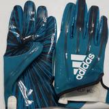 Adidas Accessories | Football Gloves | Color: Black/Blue | Size: Xl
