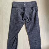Lululemon Athletica Pants & Jumpsuits | Lulu Lemon Snake Print Cropped Leggings | Color: Gray/White | Size: 2