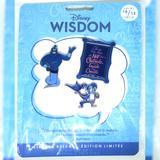 Disney Other | Genie Disney Wisdom Pin Set October | Color: Blue | Size: Os