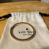 Kate Spade Jewelry   Kate Spade Rose Gold Tone Hinge Bracelet   Color: Gold   Size: Na