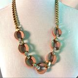 J. Crew Jewelry | Nwt J. Crew Gold-Tone Statement Necklace | Color: Gold | Size: Os
