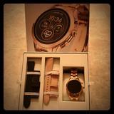 Michael Kors Accessories | Michael Kors Rose Smart Watch Gift Set | Color: Black | Size: Os