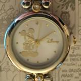 Disney Accessories | Disney Mickey Mouse Watch Silver Mickey Dial | Color: Silver | Size: Os