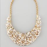 Kate Spade Jewelry   Kate Spade Kaleidoball Crystal-Encrusted Necklace   Color: Gold   Size: Os