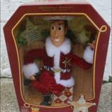 Disney Toys | Disney Toy Story Holiday Hero Woody Rare | Color: Red | Size: Osb