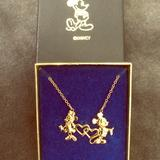 Disney Jewelry | Disney Necklace | Color: Gold | Size: Os