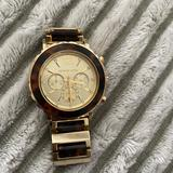 Michael Kors Jewelry   Michael Kors Tortoise Watch   Color: Gold   Size: Os