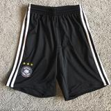 Adidas Bottoms | Adidas Germany Dfb Mens Soccer Short, Youth | Color: Black | Size: Mb