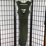 Michael Kors Dresses | Long Sexy Polyspandex Drapey Sexy Dress | Color: Brown/Green/Red | Size: L