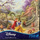 Disney Games | New!! Disney Thomas Kinkade Snow White Puzzle | Color: White | Size: Os