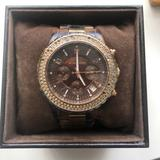 Michael Kors Accessories   Michael Kors Tortoise And Rose Gold Watch   Color: Gold   Size: Os