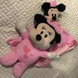 Disney Toys | Disney Baby Minnie Mouse Plush Music & Light Up | Color: Pink | Size: Osbb